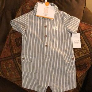 NWT Carter's boys sailboat outfit